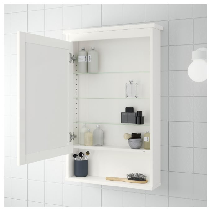 ikea hemnes mirror cabinet instructions