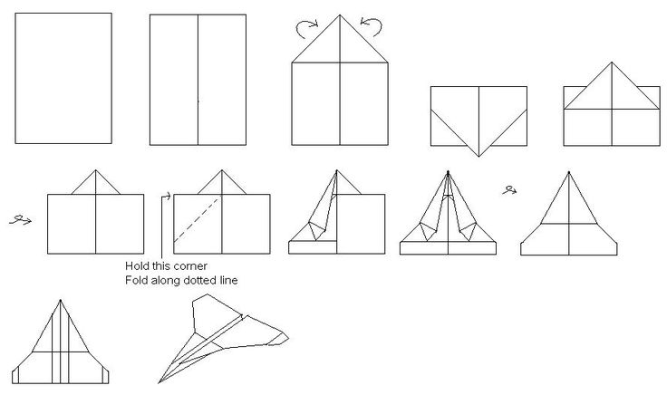 the flying ninja paper airplane instructions