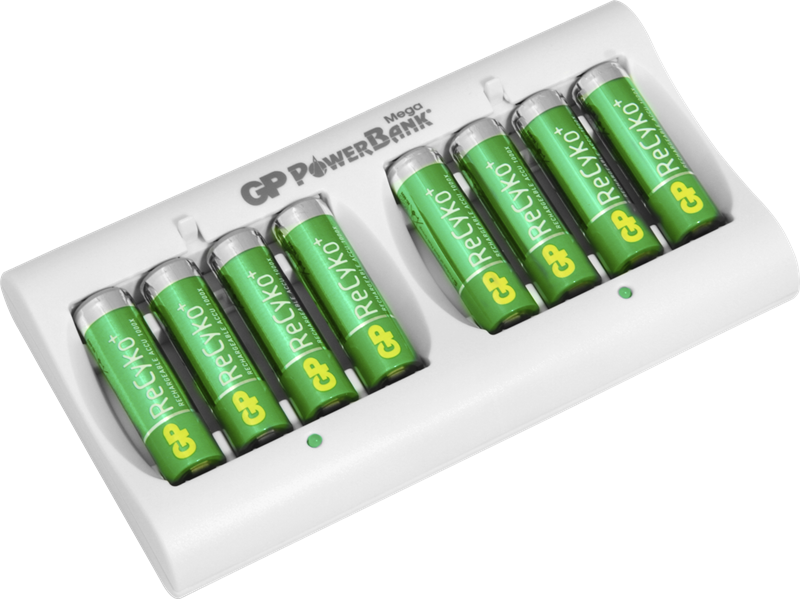 gp recyko charger instructions