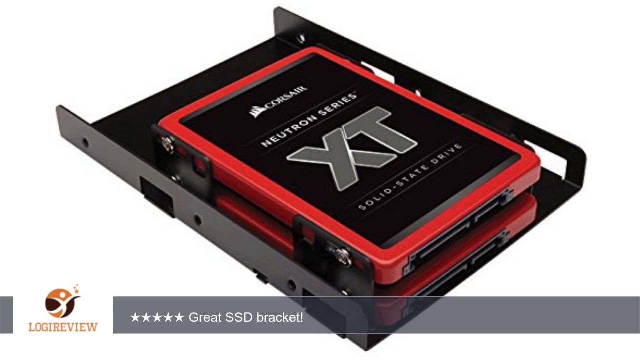 corsair dual ssd mounting bracket instructions