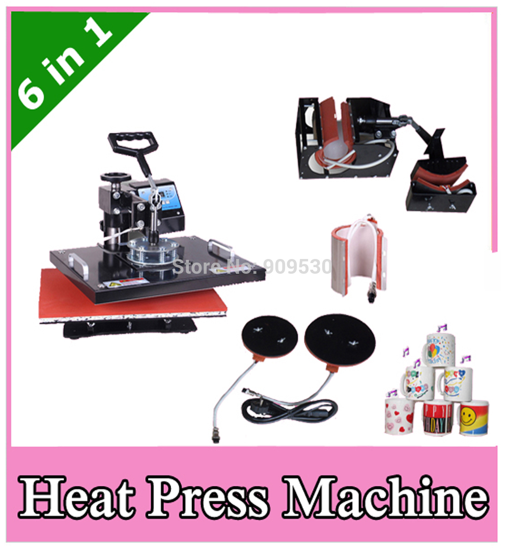 5 in 1 heat press machine instructions