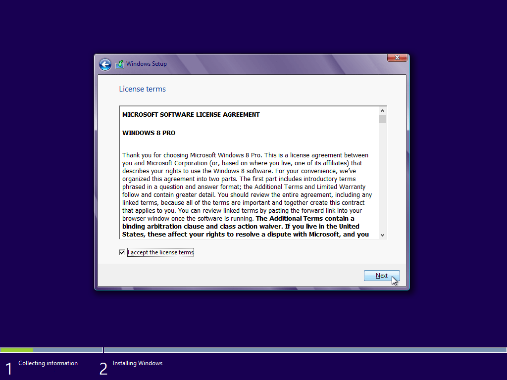 windows 8 instructions free