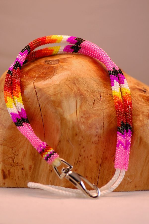 how to make beaded lanyards instructions