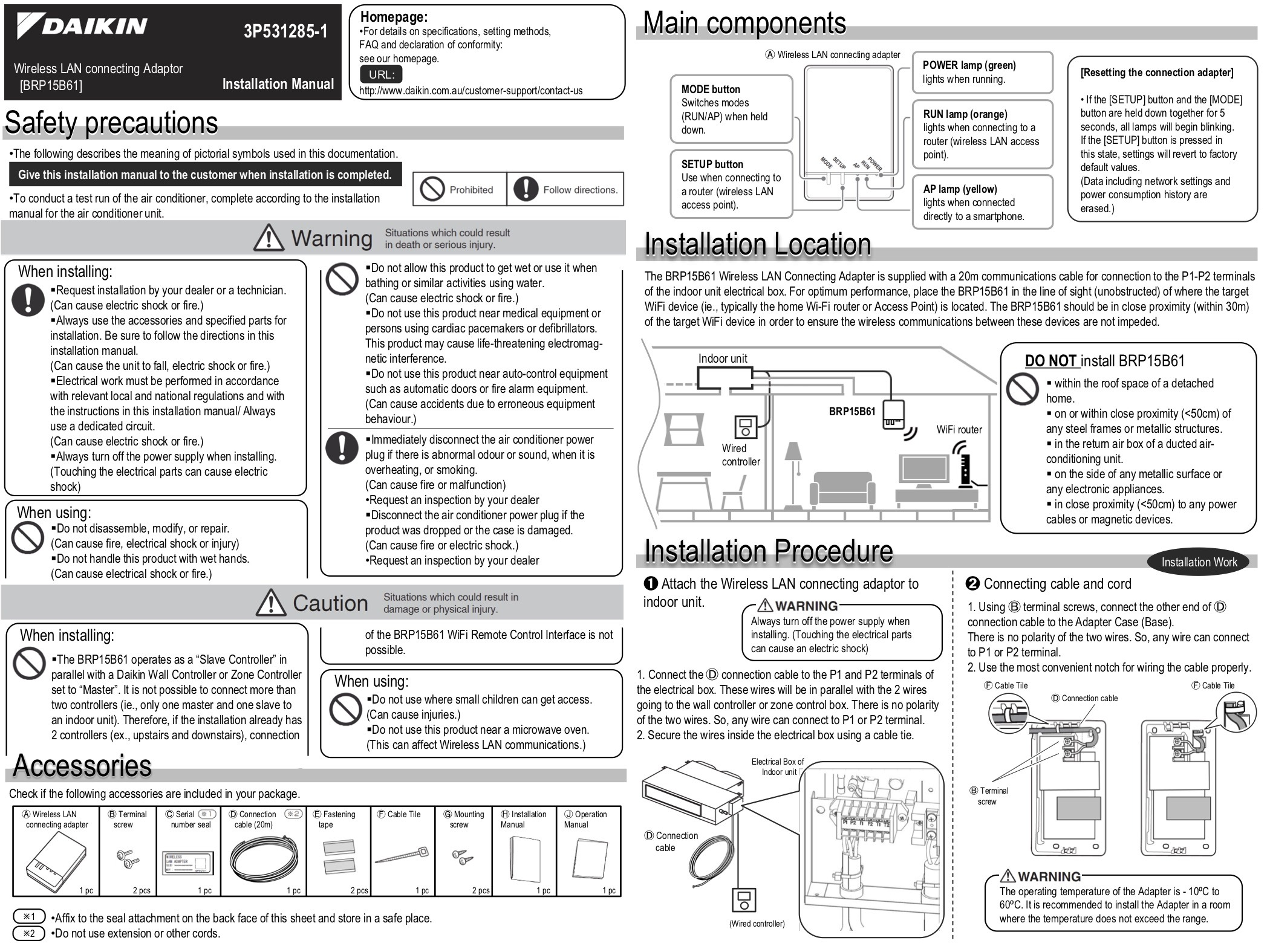 daikin air conditioning instruction manual