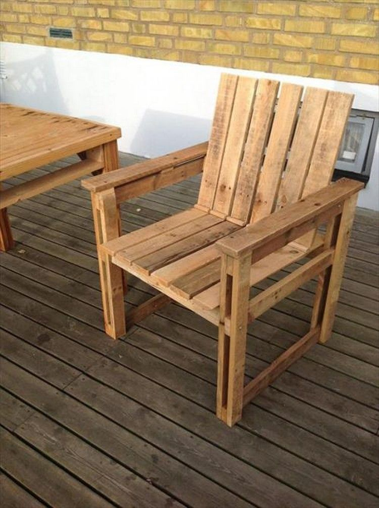pallet lounge chair instructions