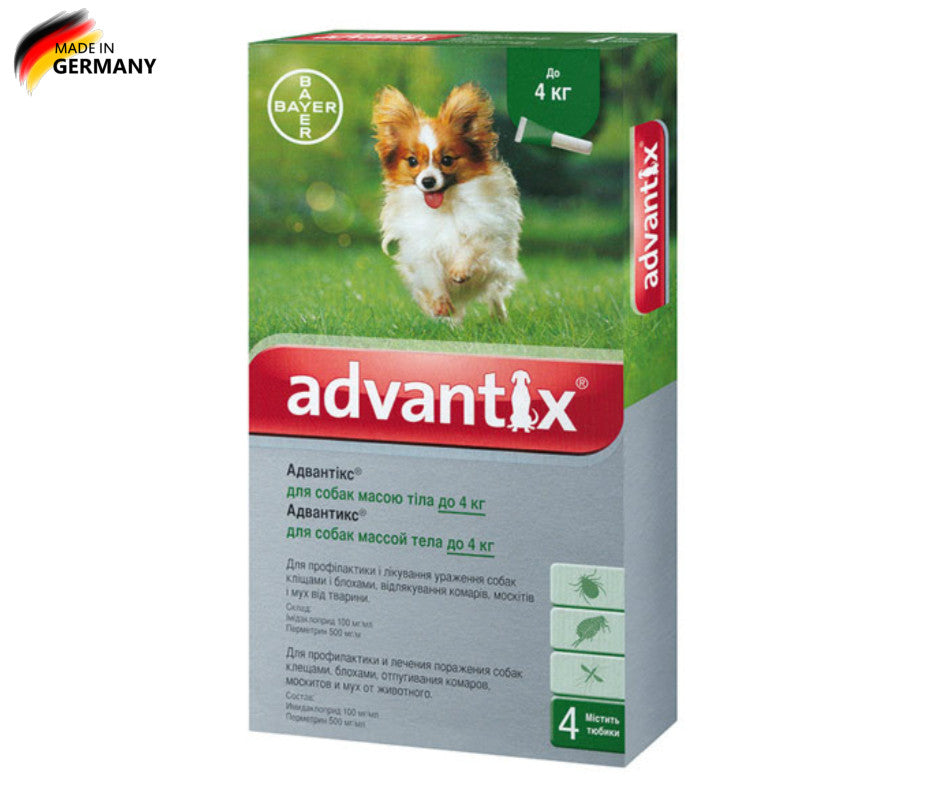 advantix for dogs instructions