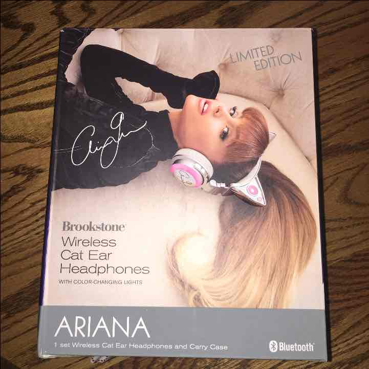ariana grande headphones instructions