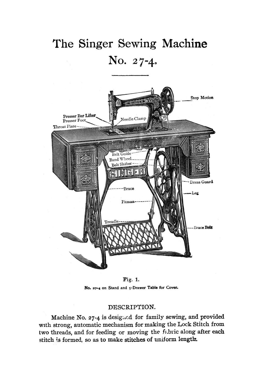 singer tradition sewing machine instructions