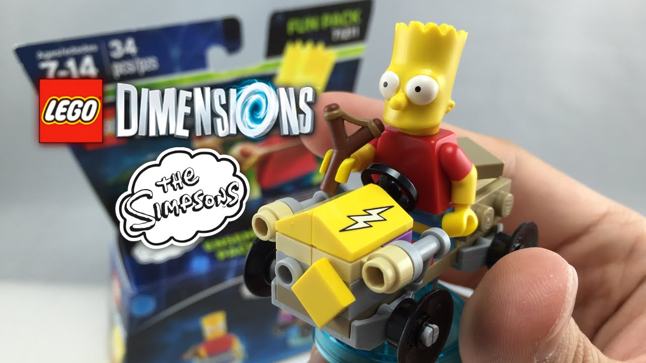 bart simpson lego dimensions instructions