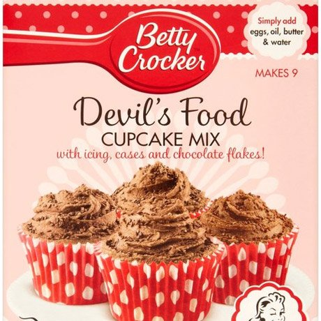 betty crocker devils food cupcake mix instructions
