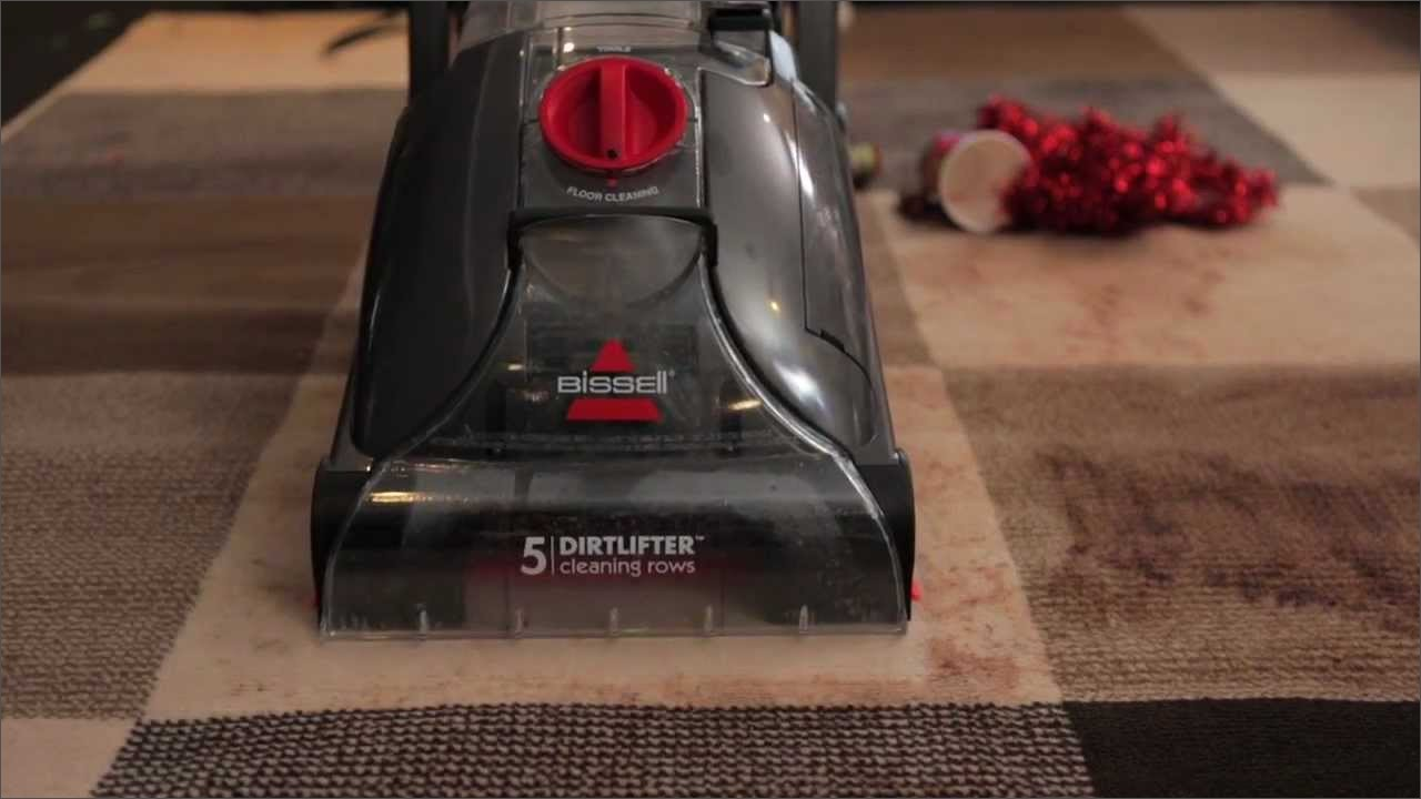 bissell carpet cleaner instructions video