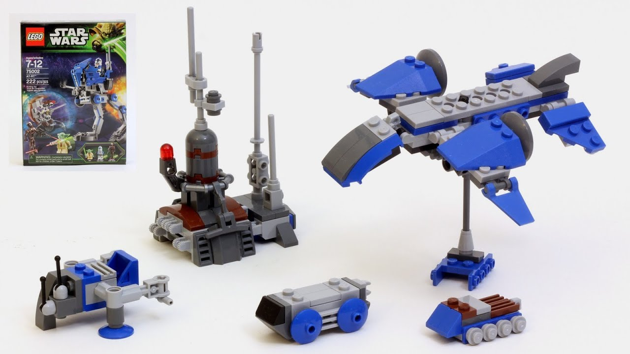 lego at rt instructions