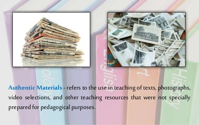 advantages of instructional materials