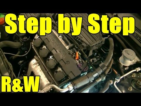 2005 honda civic timing belt replacement instructions