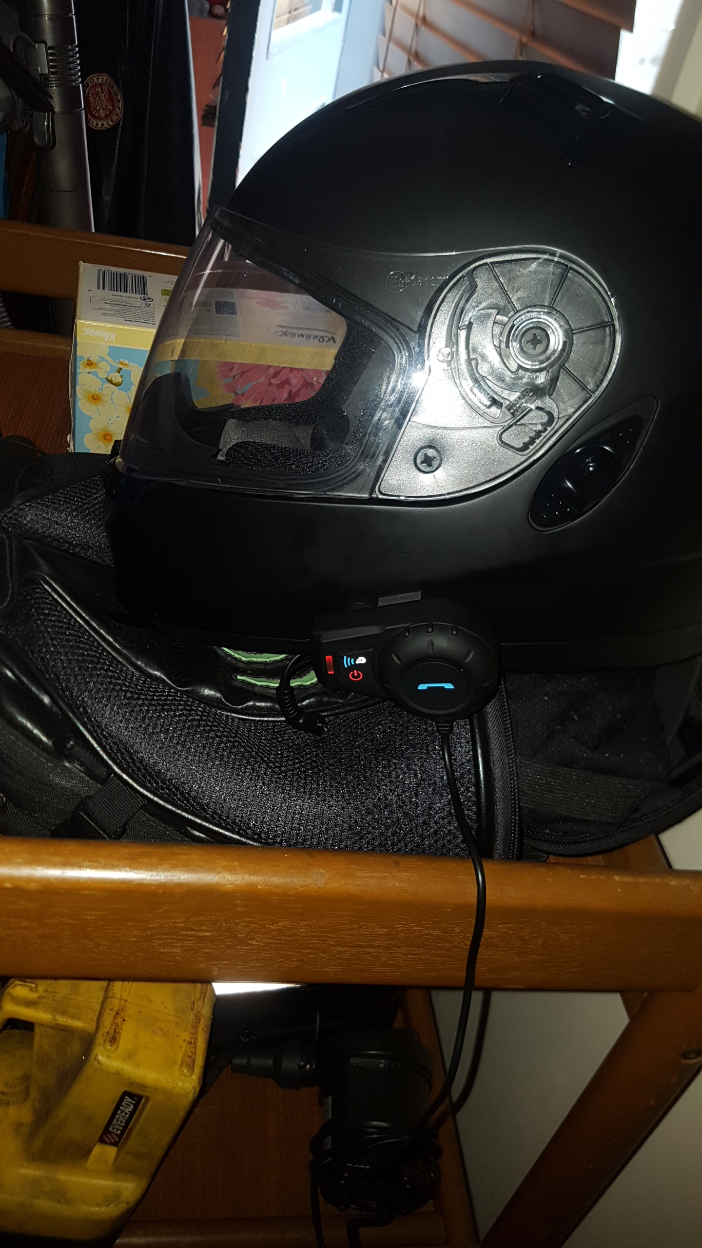 cocoon motorcycle helmet bluetooth kit instructions