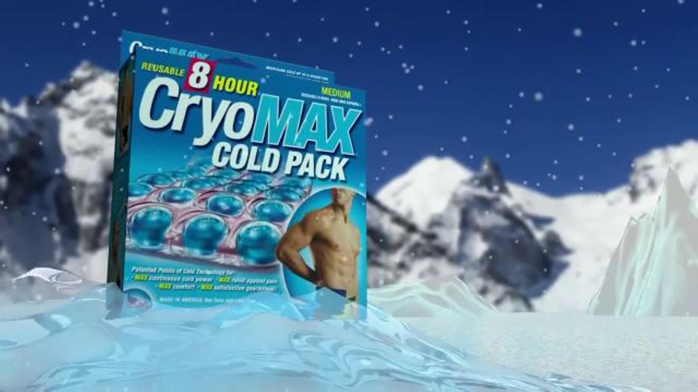 cryomax cold pack instructions