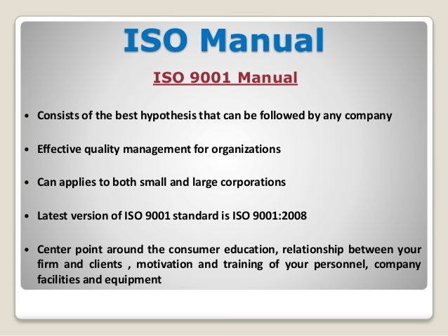 difference between procedure and work instruction in iso