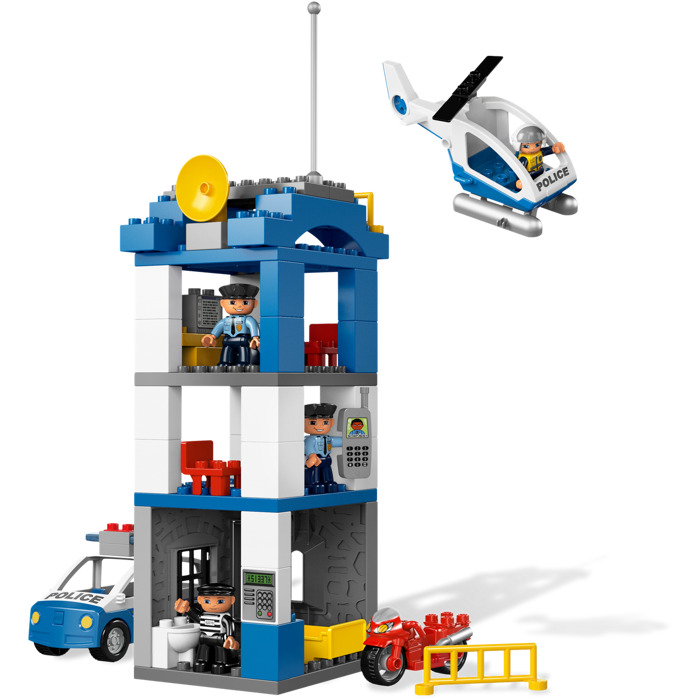 duplo police station instructions