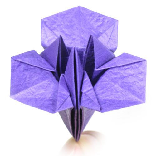 easy origami instructions flower