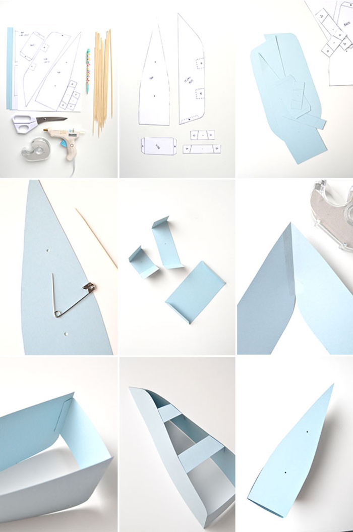 giant paper airplane instructions
