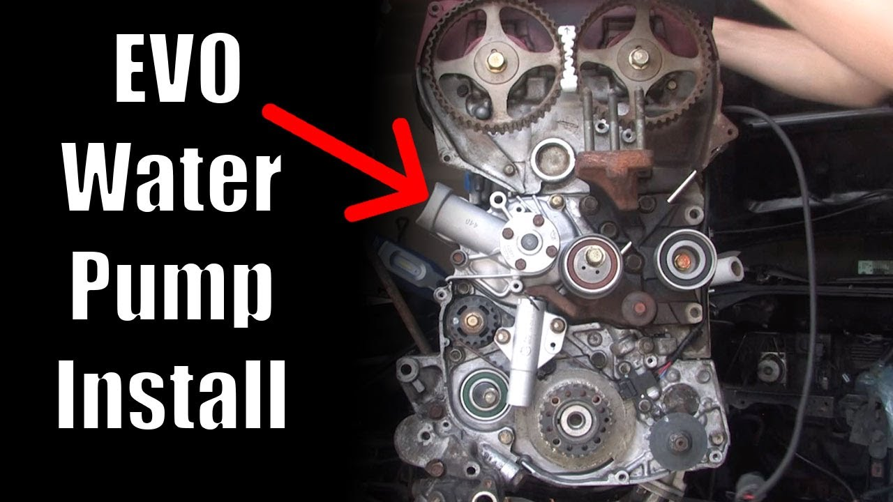 evo 8 timing belt replacement instructions
