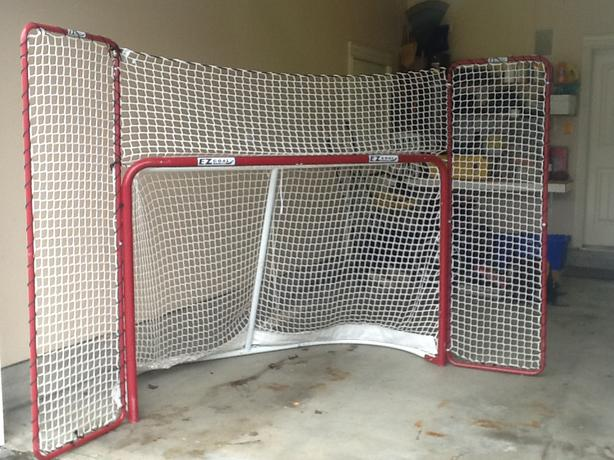 ez goal hockey net instructions