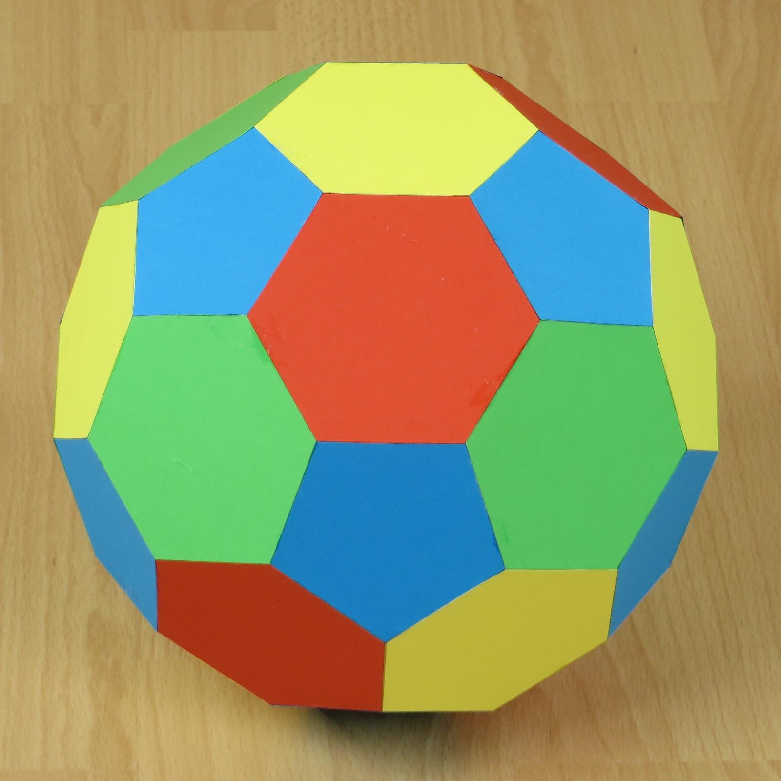Origami soccer ball instructions