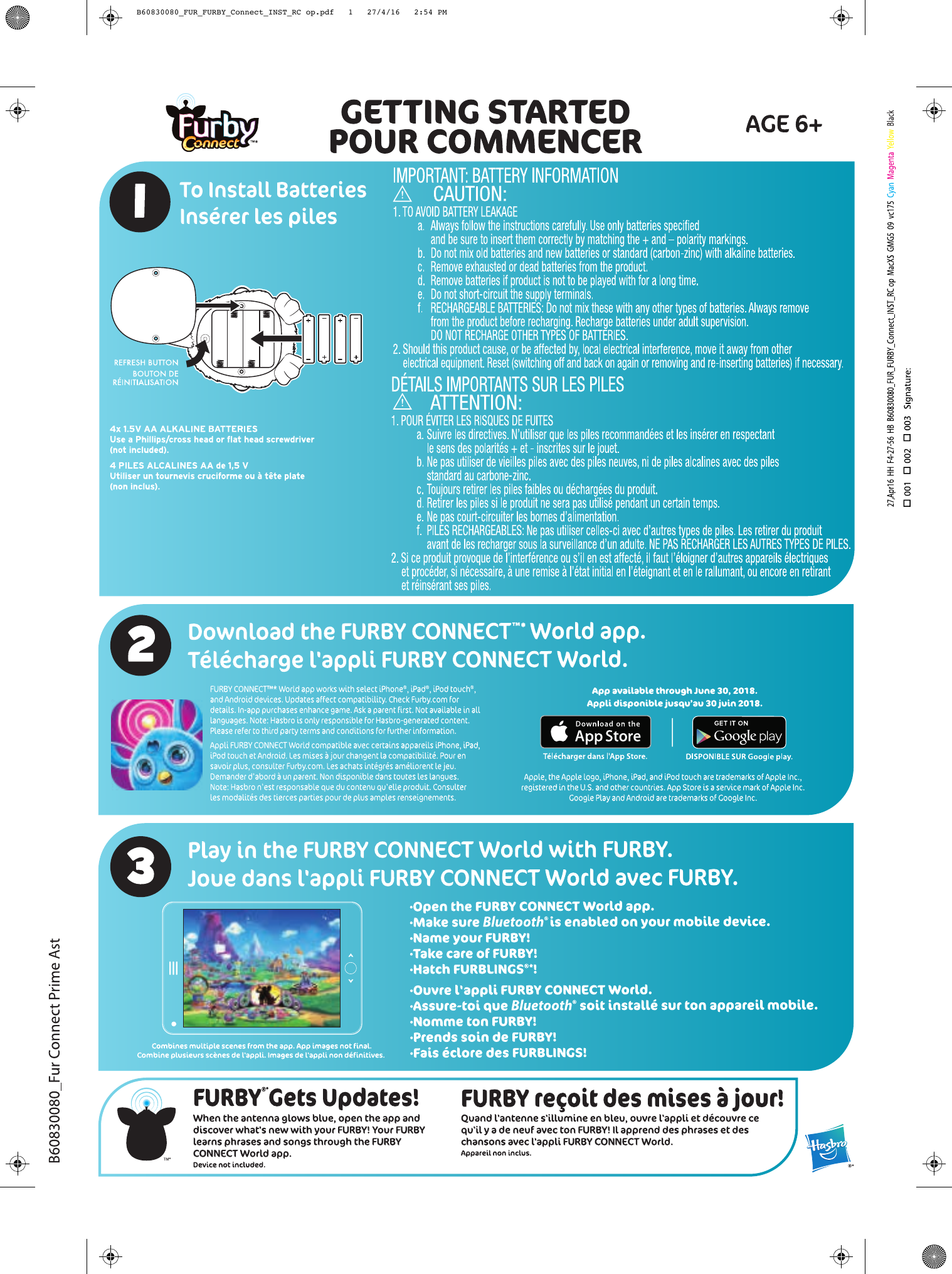 furby connect instructions pdf