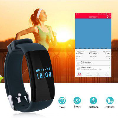 dfit bluetooth heart rate wristband instructions