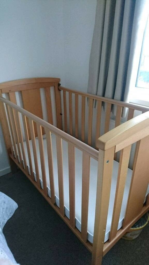 mothercare dropside cot instructions