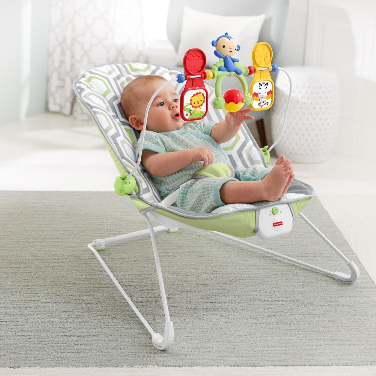 fisher price baby bouncer instructions