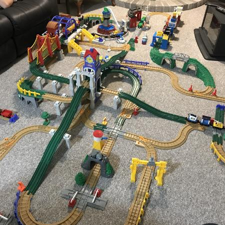 fisher price geotrax instructions