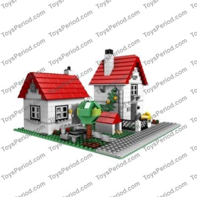 free lego house instructions