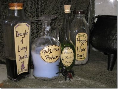harry potter potions ingredients and instructions