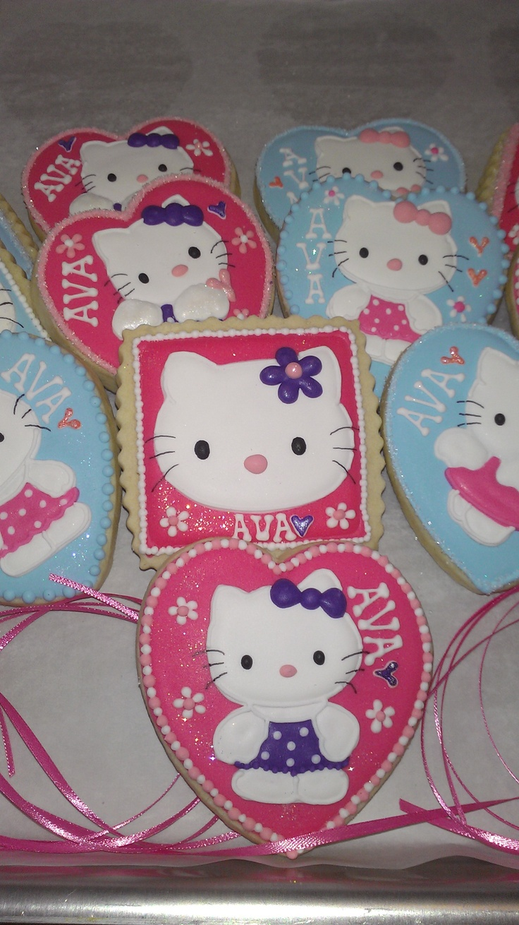 hello kitty sugar cookie mix instructions