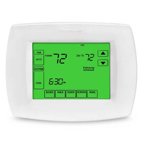 honeywell commercial thermostat instructions