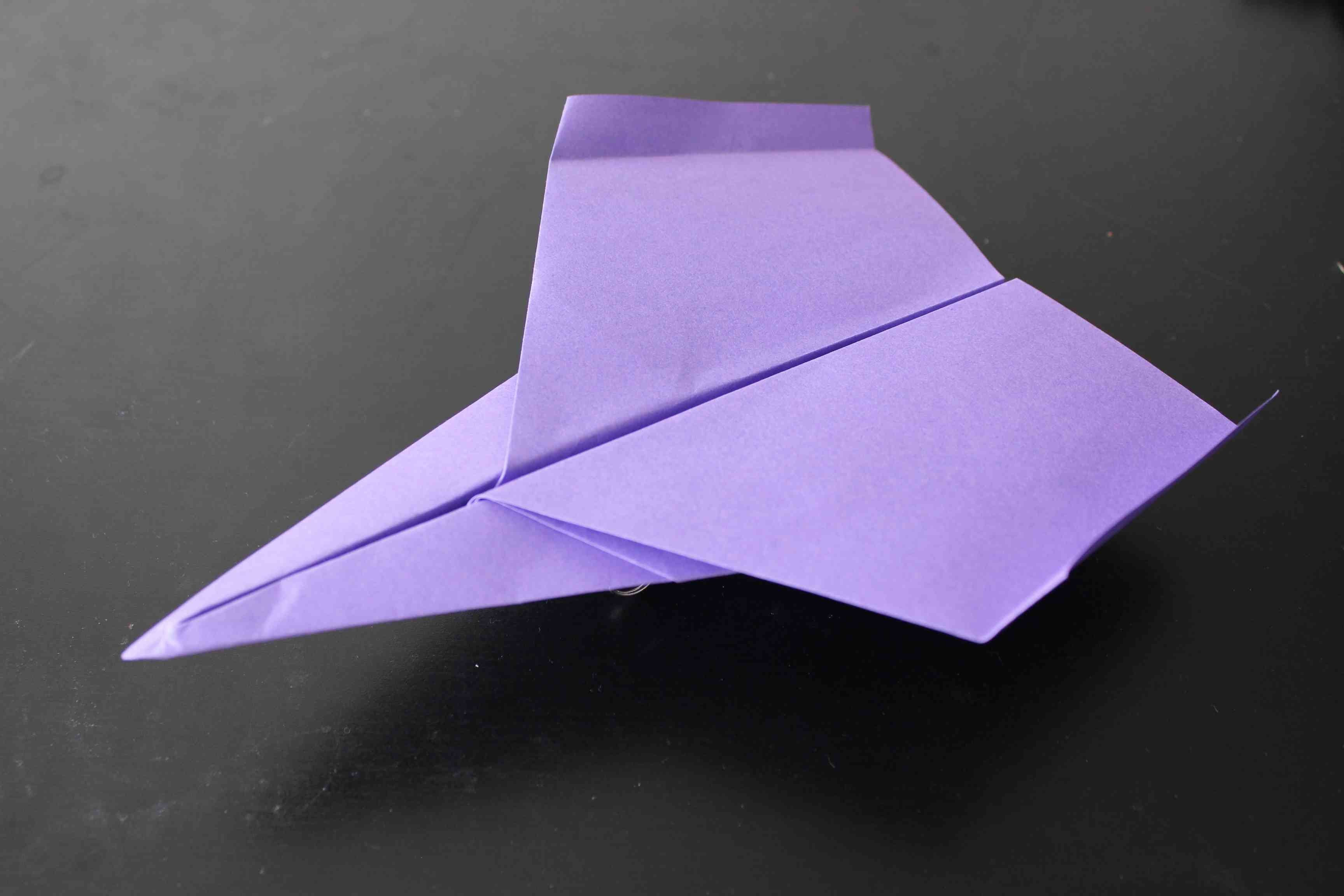 how to make a paper plane instructions
