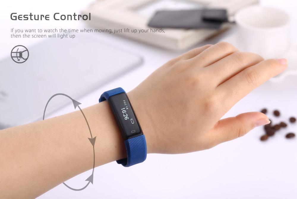 id115 smart bracelet instructions