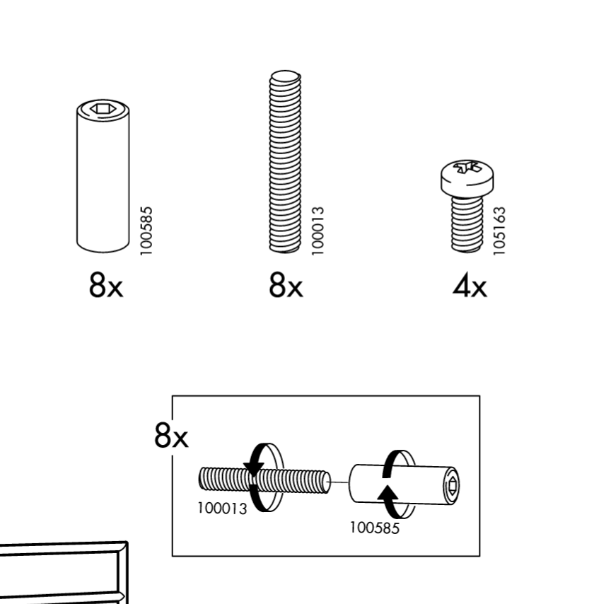 ikea hemnes bookcase assembly instructions