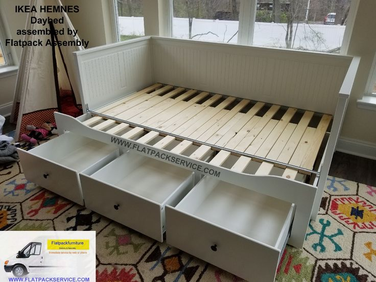 ikea hemnes daybed with 2 drawers assembly instructions