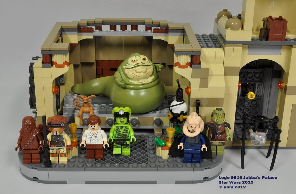 jabba the hutt palace lego instructions