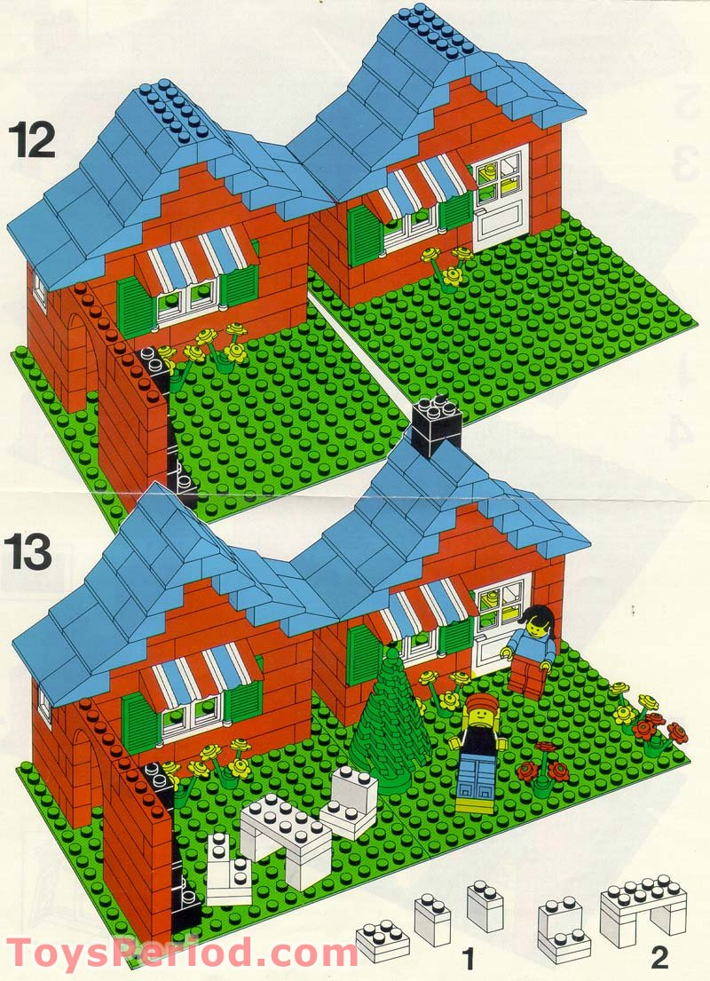 lego 3 in 1 house instructions