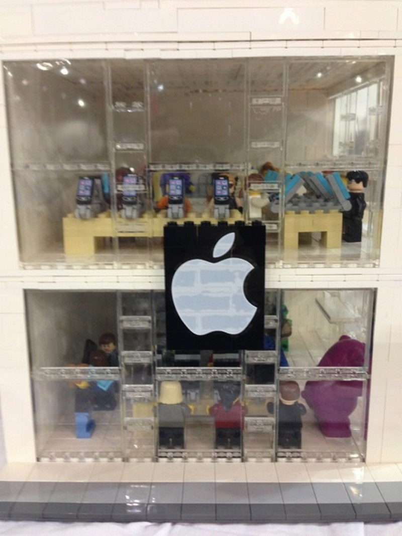 lego apple store instructions