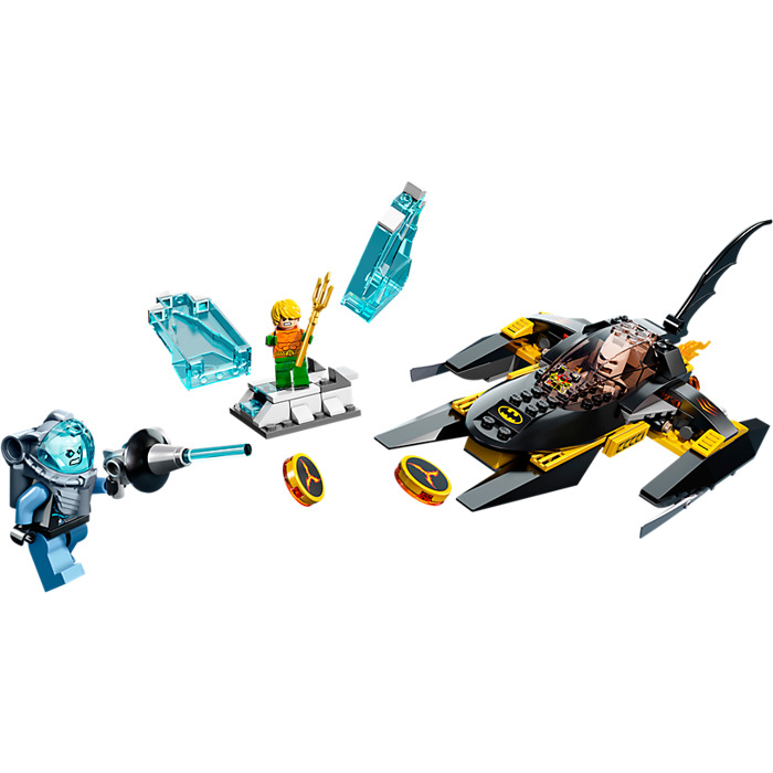 lego arctic batman vs mr freeze instructions