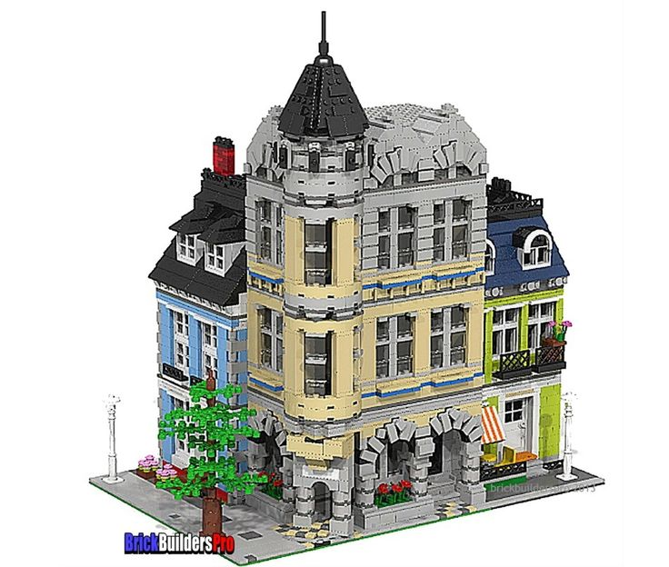 lego city ideas instructions