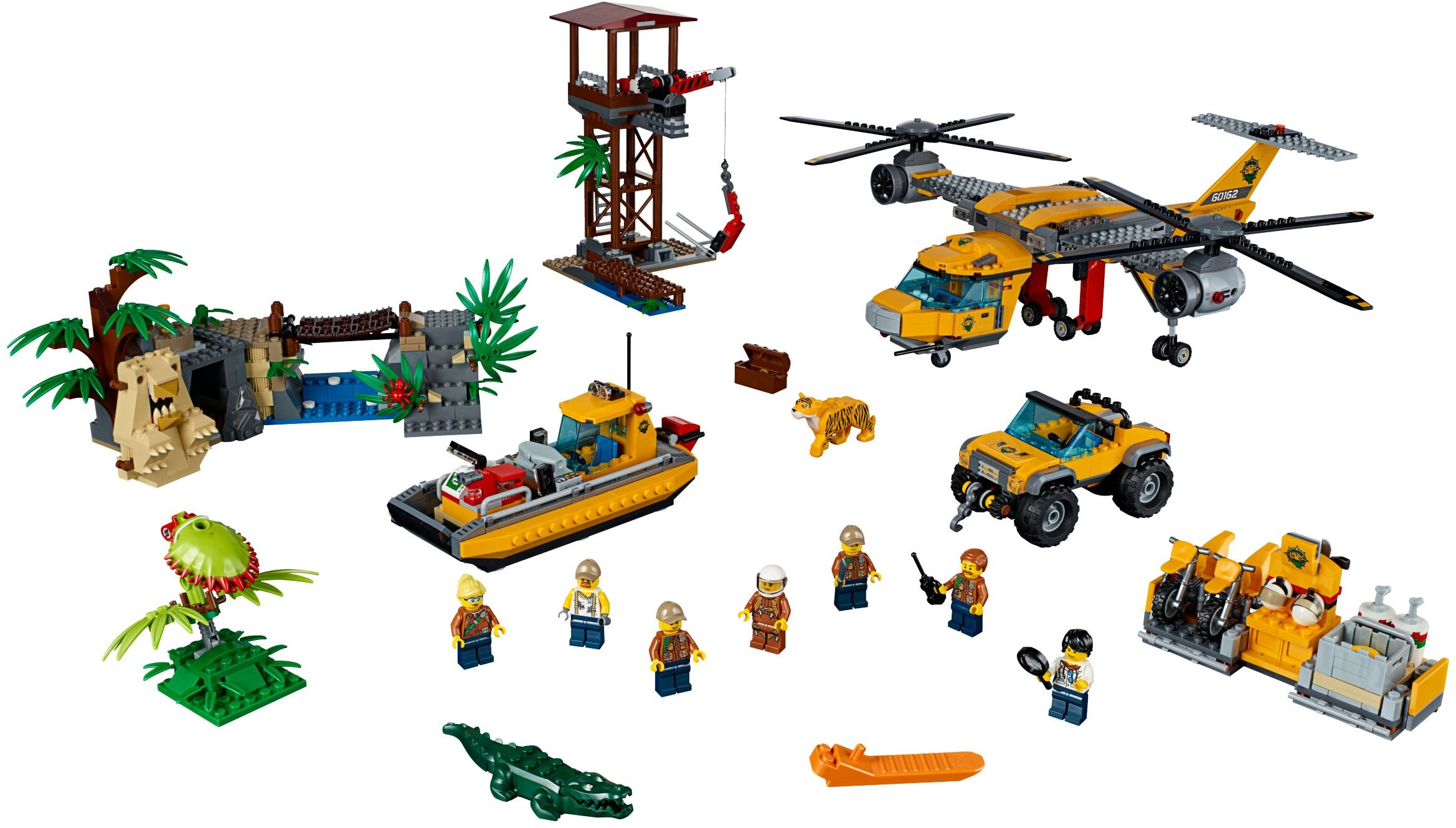 lego city jungle instructions