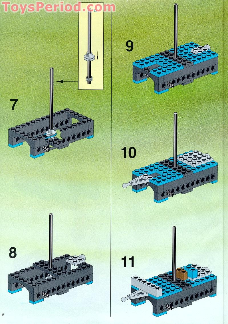 lego ghost train instructions