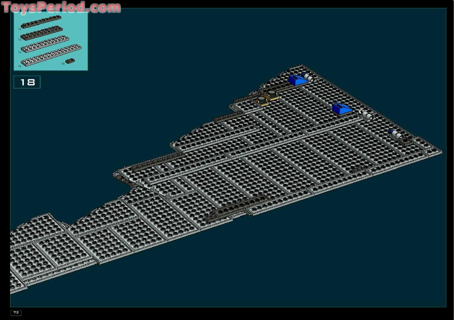 lego imperial star destroyer instructions
