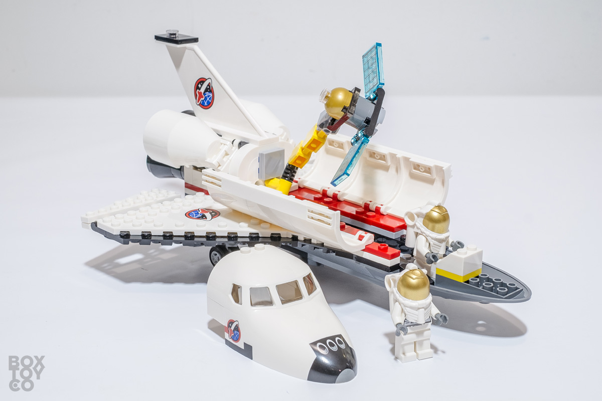 lego space shuttle instructions 60080