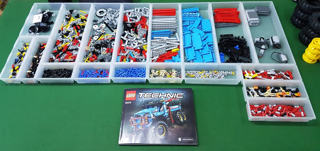 lego technic 42070 instructions